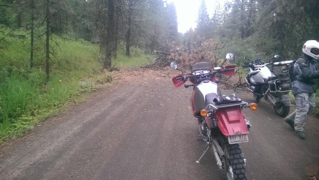 Idaho Backcountry KLR Style